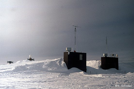 German Antarctic wintering base Neumayer II