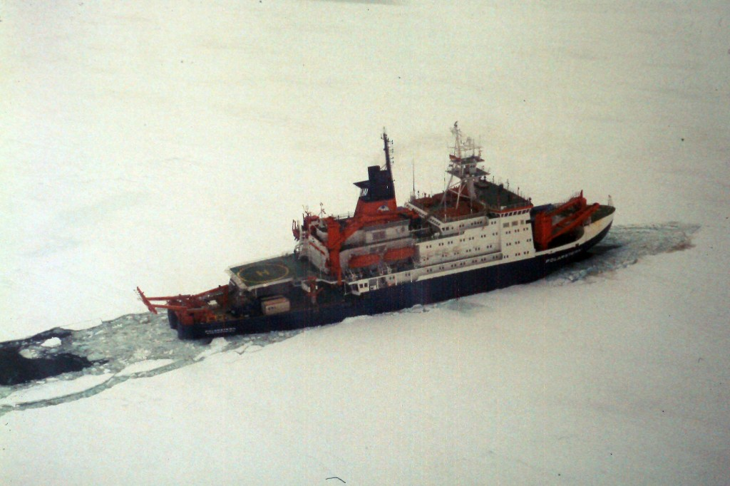 Travelling to Antarctica in the olden days.. with Research Icebreaker RV POLARSTERN