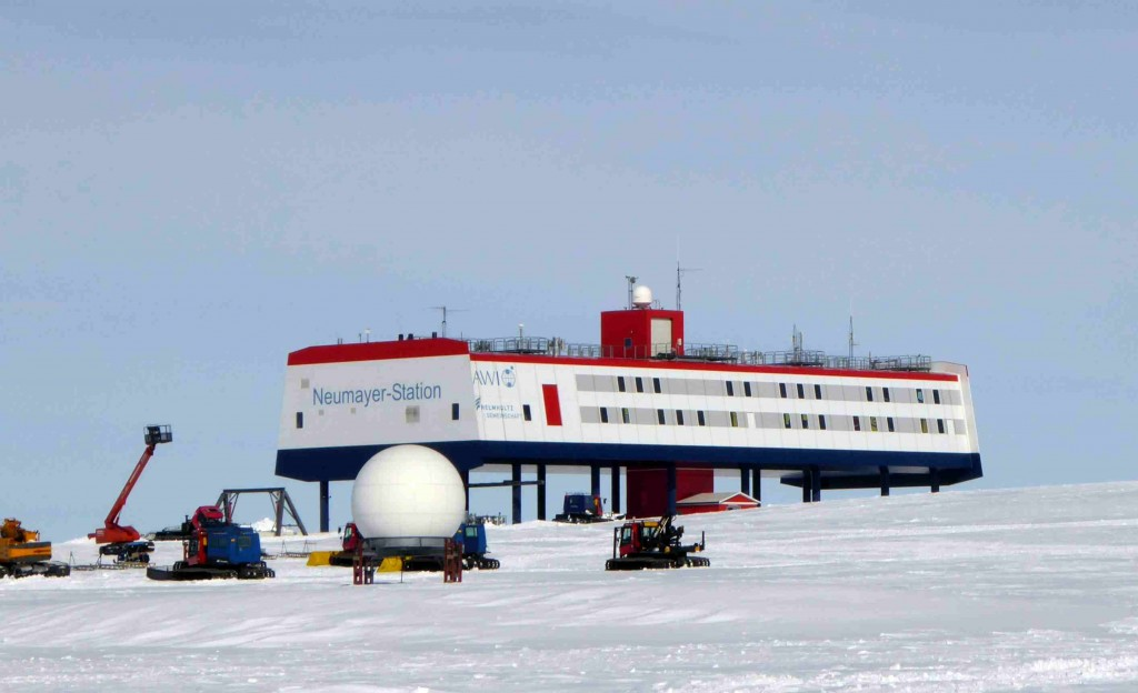 The Antarctic Research Base Neumayer III
