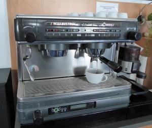 Our fancy Italian coffee machine